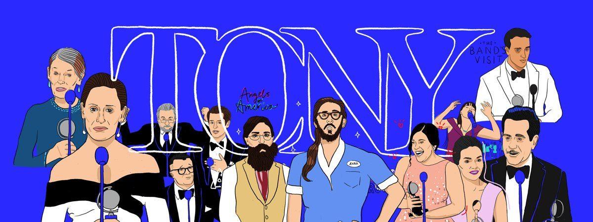 Illustrations - Tonys 2018 - 6/18 - Ryan Casey