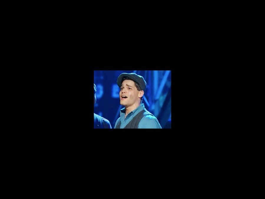 Tonys 2012 Watch It - Newsies - Jeremy Jordan