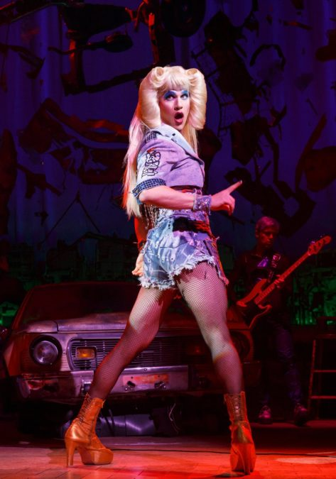 PS - HEDWIG and the angry inch - Darren Criss - 5/16 - Joan Marcus