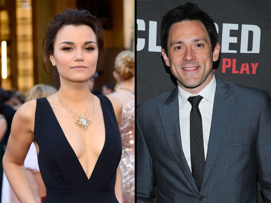 Samantha Barks - Steve Kazee - 9/17 - Getty Images