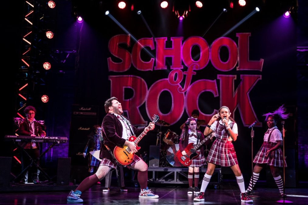 National Tour Show Photos - School of Rock - 11/17 - Photo: Matthew Murphy