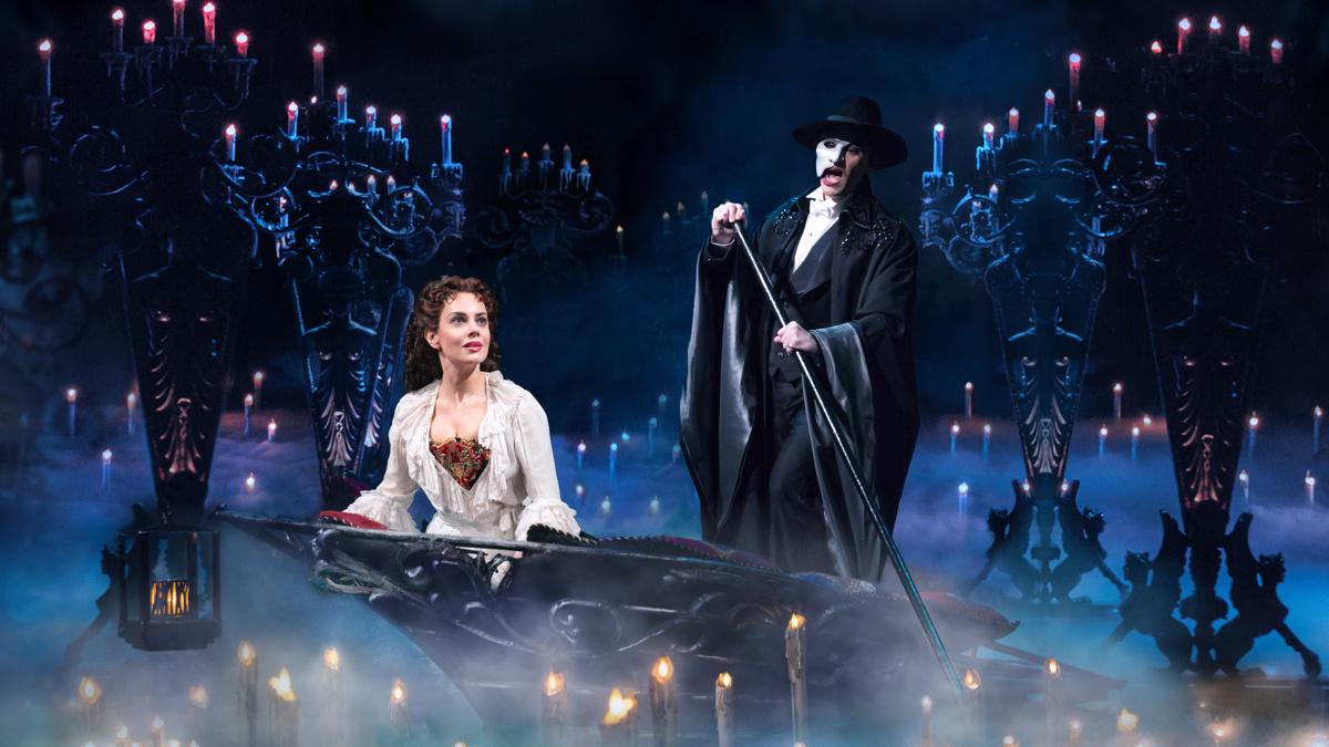 Show Photos - The Phantom of the Opera - 12/19 - Meghan Picerno - Ben Crawford - Photo: Matthew Murphy
