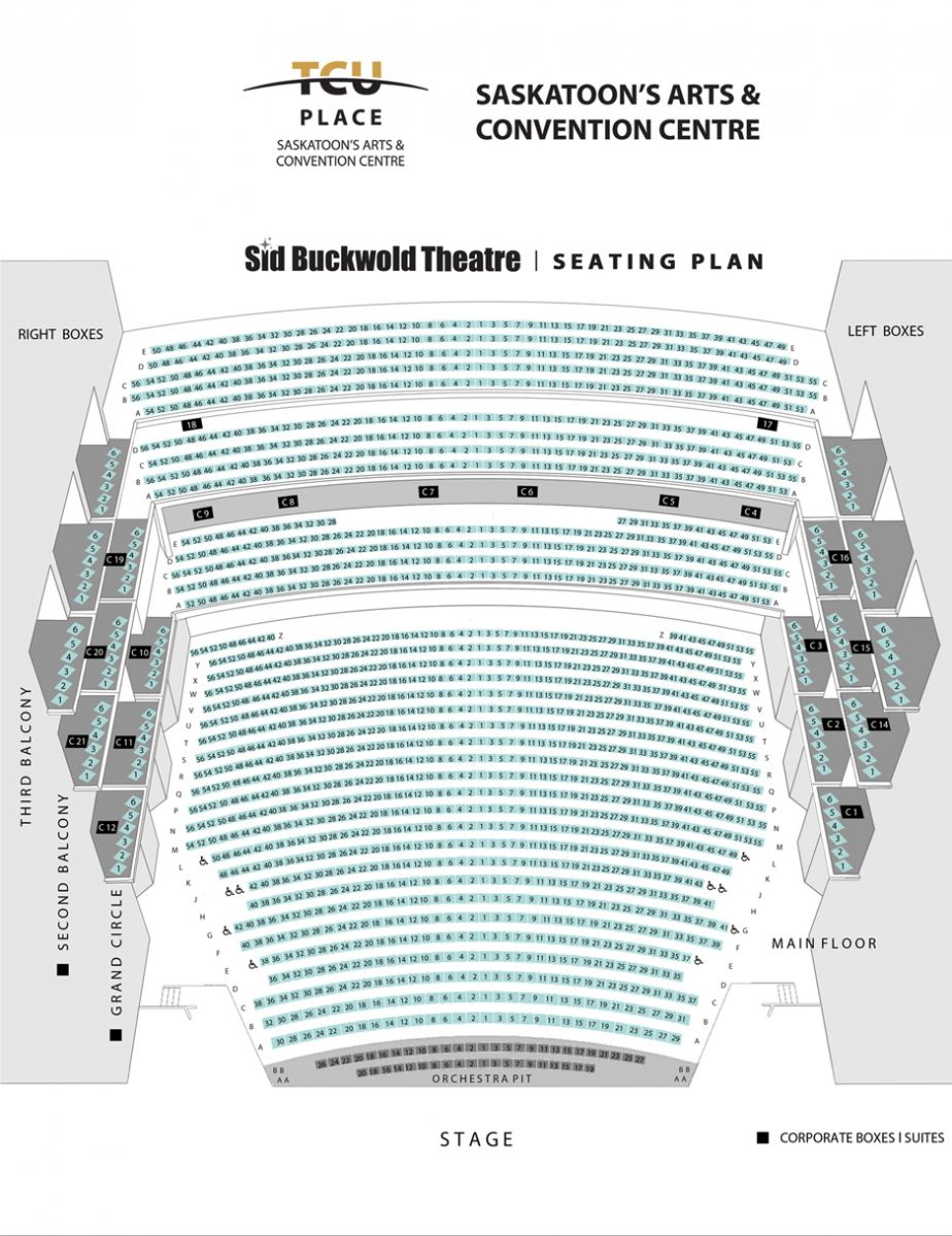 TCU Place Seating Chart